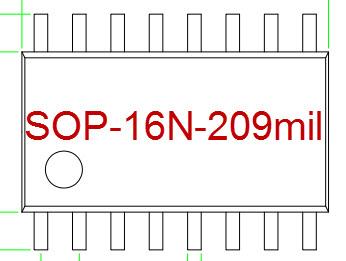 SOP-16N-209mil